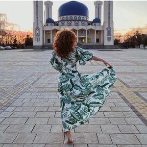 JOHANNA ORTIZ x H&M NWT Linen Blend Dress